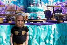 Deniz kızı temalı party