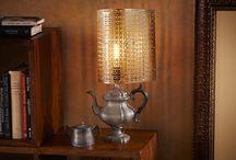 Lámpara Industrial / Recicle elementos  de su casa para crear una lámpara única, de aspecto industrial!