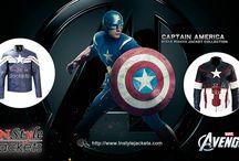 Captain America Jackets