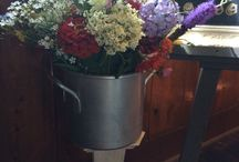 Floral Vessel Rentals / Let's make those flowers POP!  Vases, Glassware, Wood, Metal, Tins, Buckets, Baskets, Bottles, Jars, Jugs