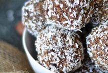 bliss balls / Yummy healthy bliss balls