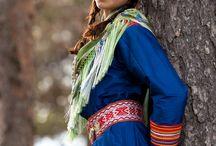 Sami a beautiful nordic people