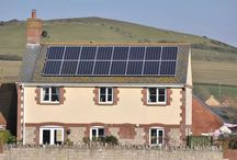 Solar Energy in Dorset / Solar energy installations in Dorset - via www.dorsetenergized.co.uk
