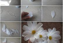 telli çiçek yapımı