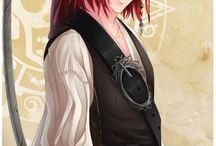 Sweet Amoris / Die Charaktere aus dem Onlinegame <3