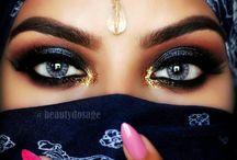 Arabische bruidsmakeup