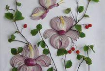 dekoracje sałatek