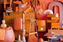 Wonen oranje / woonaccessoires oranje