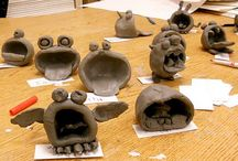 Clay and Sculpture K-5