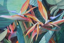 Painting Birds of Paradise / by Francoise Chauray