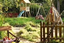 Children's natural playgrounds