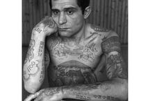 Russian Tattoos - Pics and meanings / Most of these tattoos are crime and prision related. This is a collection of pictures and sources about a special interest of mine, symbols and sub-culture tattoos. / by Manuel Faísco