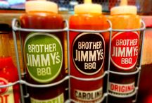 """BROTHER JIMMY'S BBQ / """"Put Some South In Your Mouth"""" at Brother Jimmy's BBQ Miami Restaurants… Mary Brickell Village 900 S. Miami Avenue, Suite 135 Miami ,  FL Tel: 305.517.5124 Sunset Place 5701 Sunset Drive, South Miami, Fl 33143 Tel: 305. 517.5124"""