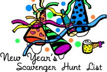 New Year's Scavenger Hunt List / by Birthday Party Ideas 4 Kids