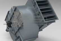 High capacity Fan / High capacity fan are mainly used in cement plant, steel plant, power plant, textile mill, types boilers, glass and brick production line, dust collector, for air ventilation, air or smoke exhaust and so on.