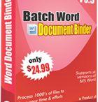 Batch Word Document Binder