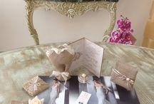 Νέες ιδέες για το γάμο σας!! / Μπομπονιερες, νυφικά, προσκλητηρια, στολισμός γαμου