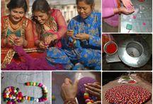 Nepal / Vuoria, maisemia, värejä... Huopapallomatot tulevat Nepalista