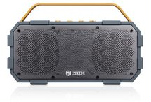 Zoook Rocker Torpedo / the best rugged Bluetooth speaker available. Crafted from fiber-reinforced resin and solid aluminum, ROCKER TORPEDO is ready for anything. Plus, with 8 hours of battery life, these beast-degree speakers have no limits. And neither will you.