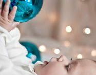 Weihnachtsfoto baby