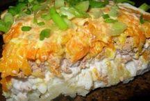 Блюда из печени, салаты