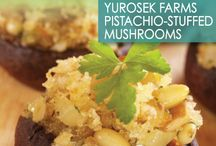 Pistachio Recipes / Recipes made with Yurosek Farms Pistachios
