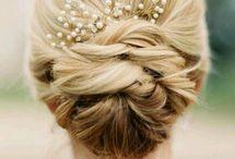 Bridesmaid Hair Updo Katie's Wedding ❤️