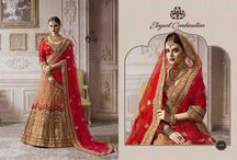 2628 Zikkra Once again Bridal Hand work Lehenga Choli