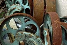 rusty stuff / by Kathy Collier