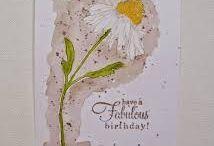 Flower garden cards