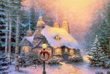 Thomas kinkade / by Caitlin L.