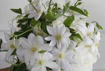 Clematis Wedding Bouquets