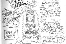 new board / Journaling ideas