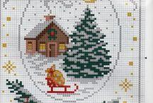 Punto cruz: Weihnachten
