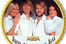 ABBA edible cake toppers