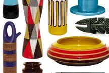 Ceramics and colourd glass