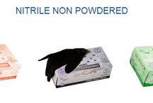 Nitrile Gloves / Powder Free - Industrial Grade - USDA accepted - Non Latex - Non-Sterile Specifications: - 5.9 mil. thickness - Orientation: Ambidextrous - Cuff: Round beaded cuff - Color: Black - 100 gloves per box - 10 boxes per case