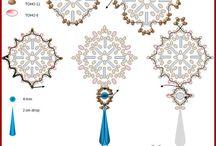 Bead earring pattern