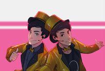 Dan and Phil Art