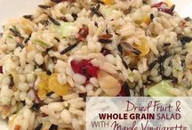 Wholesome Whole Grains ~ / Recipes made with whole grains
