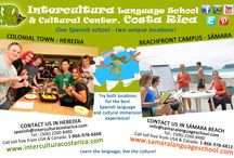 Learn Spanish in Heredia city / Intercultura has two unique locations - Colonial town Heredia and beachfront campus in Sámara. Combine both locations for the best immersion experience in the Spanish language and Costa Rican culture! Change easily from one campus to the other without any interruptions in your learning process!