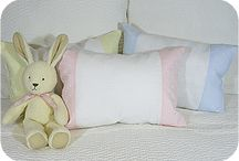 BABY PILLOWS FOR ANY OCCASION / These wonderfully sourced pillow covers can be turned into any occasion by you.
