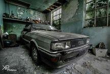 opuszczone auta