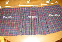 Pleated skirt boys scootish diy