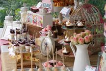 so sweet and so romantic...! / floral girl's christening!