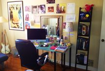 In Search of the Write Space / Welcome to a new kind of author spotlight! Get a sneak peek into the creative lives of authors around the world by seeing their writing and work spaces. For more information on the series, go to: http://www.meaganspooner.com/write-space/