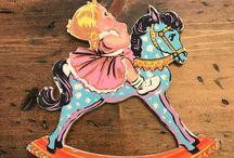 Rocking Carousel Horse