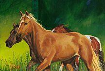 Horse Art by Nancee Jean Busse / Horse Art by Nancee Jean Busse