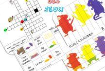 Album : trois souris peintres, en papier...
