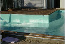 swimming pools I schwimmbecken / Individuelle Gestaltung ihres Schwimmteichs, Swimming Pools oder Schwimmbecken mit Gfk-Beschichtung www.aluterra.de